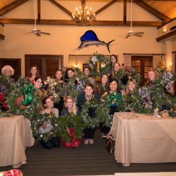 Christmas Wreath Workshop | Dairing Bride Mixer