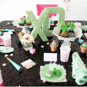 Dairing Babes Cactus Valentine Party