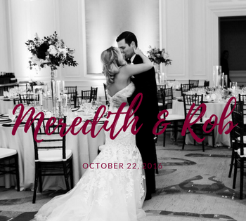 Meredith & Rob | Ritz Carlton Wedding Planner