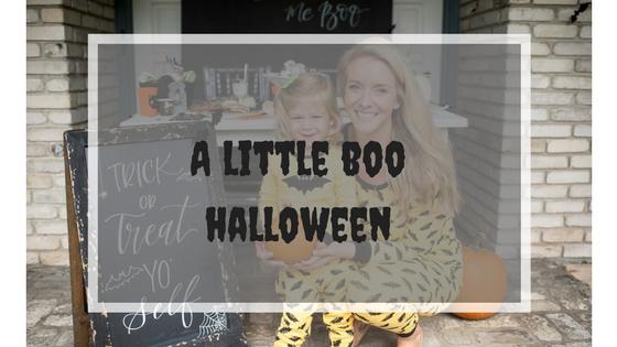 A Little Boo Halloween
