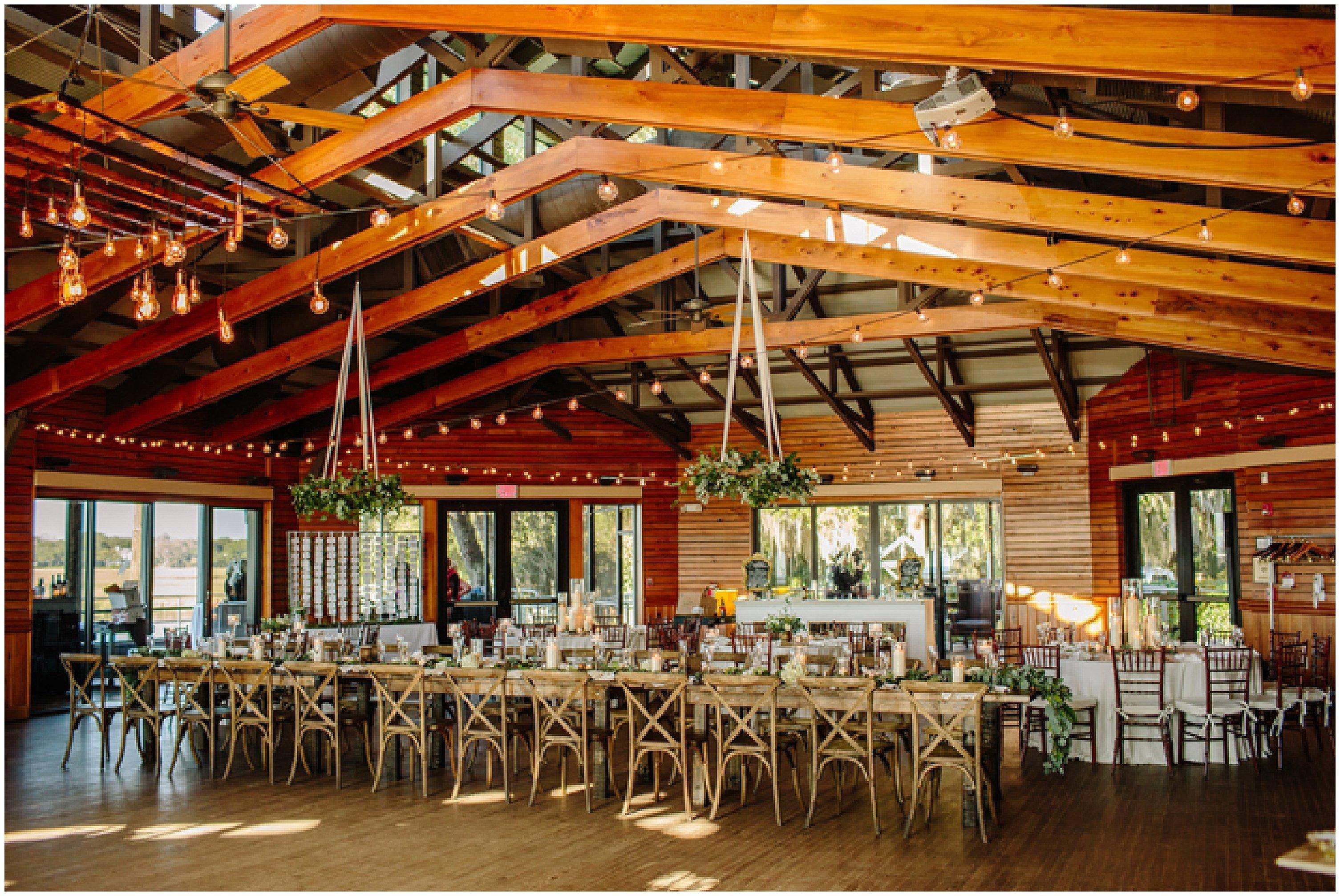 Walkers Landing Feasting Table Centerpiece Design Omni Amelia Island Plantation