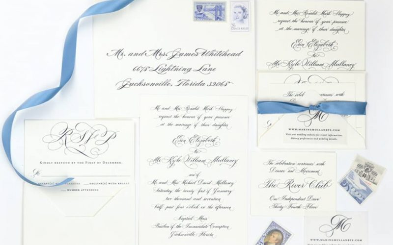 5 Mistakes when it comes to your Wedding Invitations