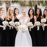 Black Bridesmaids Gowns, Bella Bridesmaids Gowns